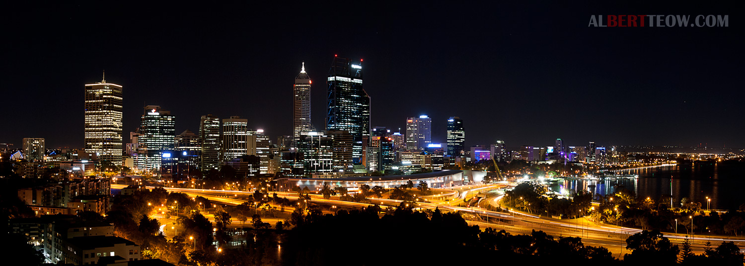 city night skyline panorama - photo #36