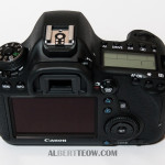 Canon 6D Body Back