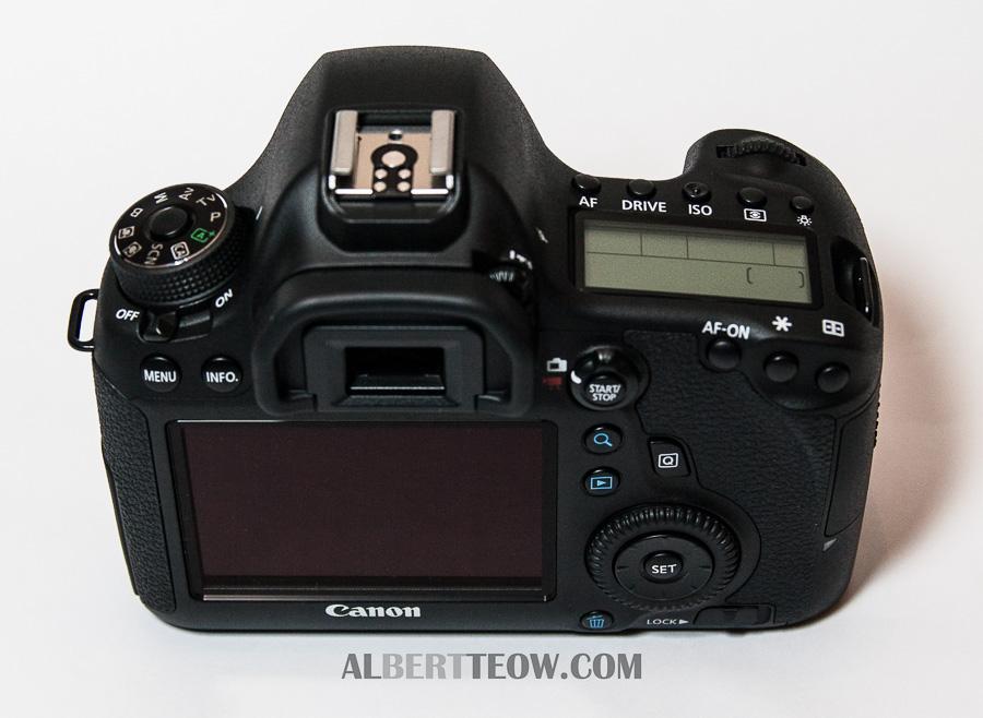 Canon 6D Body Back